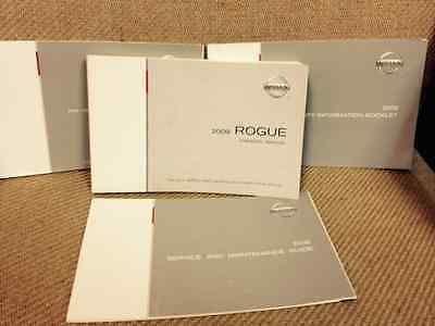 Nissan Rogue 2009 Owners Manual