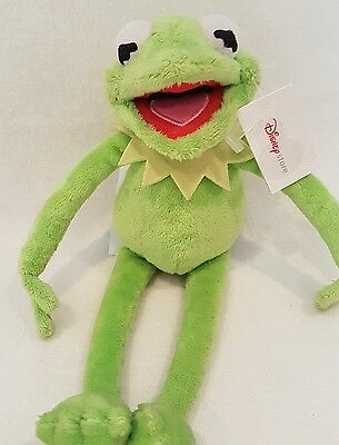 New*Kermit frog Disney Store Exclusive Kermit the frog the Muppets plush toy