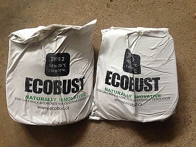 Ecobust Type 2 Expansive Mortar Bags 22 lb