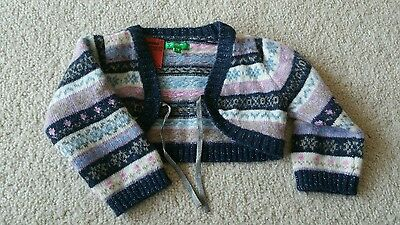 UNITED COLORS OF BENETTON Baby Girl's Jumper Size 9-12m