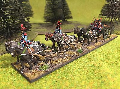 1/72 Napoleonic plastic painted French Guard horse artillery - set 1
