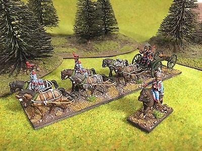 1/72 Napoleonic plastic painted French Guard horse artillery - set 2