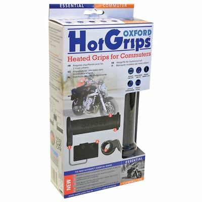 Oxford Heated Hotgrips Essential Motorcycle Scooter Universal Commuter Grips
