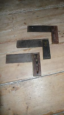 There  Vintage Carpenters Tool - Set Squares
