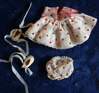 Sweet  Ginger Ginny  Red Polka Dot   Dress  Outfit Original