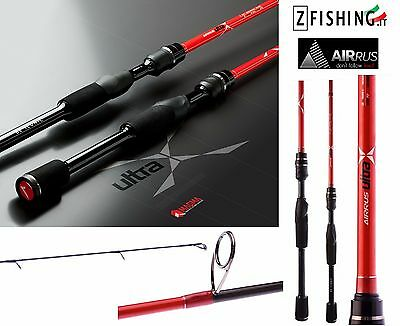 CANNA AIRRUS ULTRA X SPINNING Monopezzo lago mare black bass spigola pesca