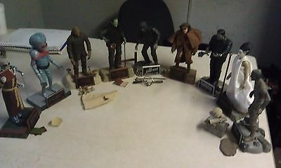 Universal Monsters Sideshow Toys 2000 Figure lot 9 Figures