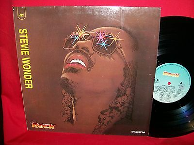 STEVIE WONDER rare Promo only LP ITALY Unique Laminated Cover MINT   The Beatles