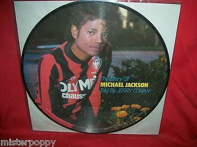 MICHAEL JACKSON The Story of Told by Jerry Cowan PDK LP USA MINT-