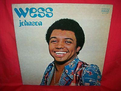 WESS JOHNSON Same LP 1973 VG Italy Beat Soul Funk First pressing Lam G/f Cover