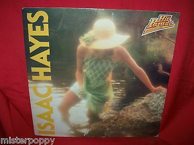 ISAAC HAYES Hit Parade Promo only LP + Book ITALY MINT-