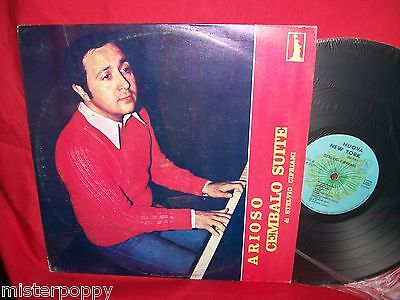 STELVIO CIPRIANI Arioso Cembalo Suite LP 1970s ITALY First Pressing MINT