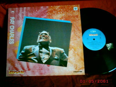 RAY CHARLES rare Promo LP ITALY Unique Cover MINT
