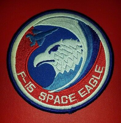 USAF 6512th Test Squadron F-15 Anti-Satellite Combined Test Force Patch
