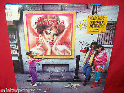 ARETHA FRANKLIN Who's Zoomin' Who LP 1985 USA MINT- Inner