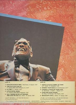 RAY CHARLES rare Promo only LP ITALY Unique Laminated Cover MINT