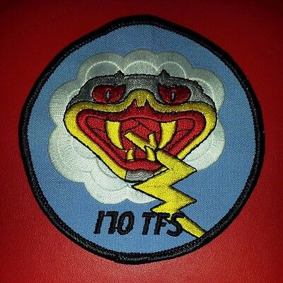 USAF 170th Tactical Fighter Squadron Patch