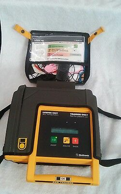* Medtronic Physio Control Lifepak 500T Aed Training System Trainer Only