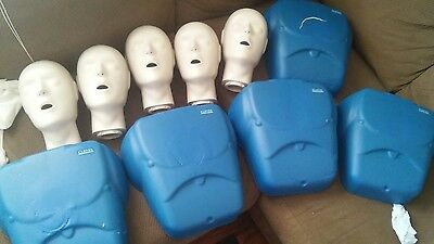 CPR PROMPT Manikin Set of five with bag