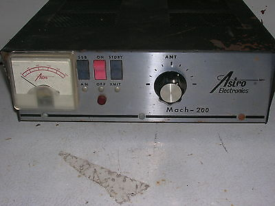 Astro Electronics 200 watt 10 meter amplifier