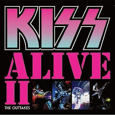 Kiss ALIVE II THE OUTTAKES Lp numbered pink vinyl live Japan 1977