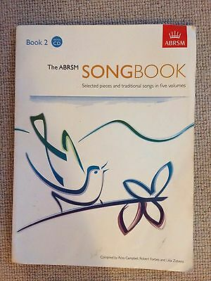ABRSM Songbook - book 2 with CD - used but still good condition