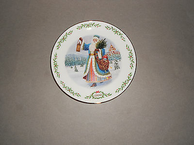 Lenox Int'l Victorian Santas Plate Collection Grandfather Frost Plate (1994) NM