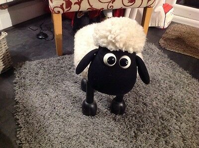 Shaun the Sheep footstool (Wallace and Gromit) Great condition