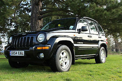 2004 Jeep Cherokee Limited Crd A Black Auto