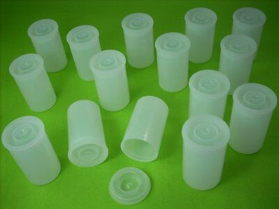 Film Canisters, Containers, Film Pots, Tubs  With lids  x 30 Best For Rockets .