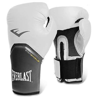 Everlast Elite Training Boxing Gloves 12oz Pro Style Fight Punch Mitts Sparring