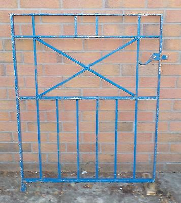 HEAVY DUTY WROUGHT IRON GARDEN GATE (see description)