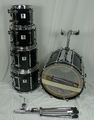Sonor Designer Black 10,12,14,16HT,22BD (All birch) - Birke