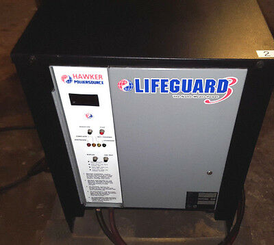 Hawker Lifeguard 3 24vDC Forklift Battery Charger Single Phase 24 VOLT DC Charge