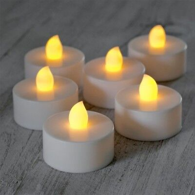 6 Candele Candela Tea light Effetto Tremolio Fiammella a Batteria Lumino a Led