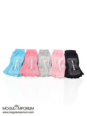 Yoga Fitness Grip Exercise Five Toe Socks Pilates Non Slip Socks