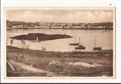 Portaferry from Strangford, County Down Postcard