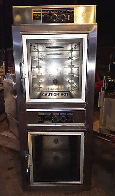 NU-VU UB-E5/5 Bakery Bread Stainless Steel Convection Oven Double Deck Full Size