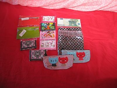 Wholesale   Job Lot Of  15 Wallets    Purses All Brand New