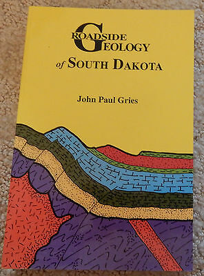 """Roadside Geology of So. Dakota"" Book - New"