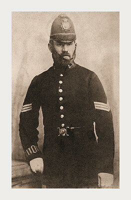 Photo Taken From 1900 Image Of A Member Of The Dover Constabulary