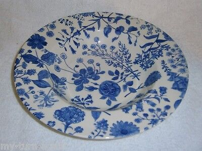 Royal Stafford Wildflowers Hedgerow Blue Soup Pasta 1 Bowl (8 Available)