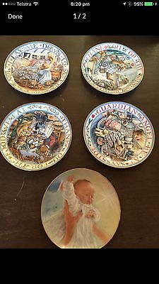 5 royal doulton collector plates FREE REGISTERED POST