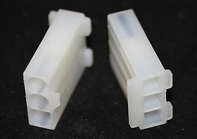 5 off  (5 pieces) 3 Way  crimp housing see listing for size   (2103)