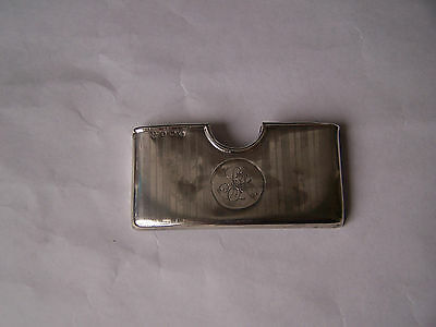 Silver Calling Card Case Birmingham 1913 Antique