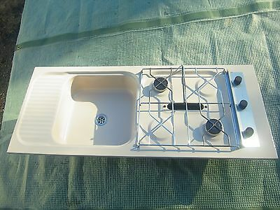 Spinflo Mark X Combination unit (hob, grill and sink) for caravan or motorhome
