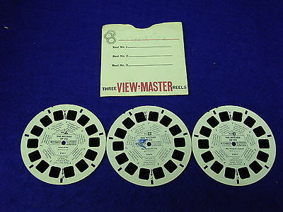 THE WIZARD OF OZ (B361): 1957 View-Master 3 Reel Set