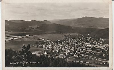 Early Postcard - Ballater - From Craigcoillach - Scotland  -Real Photo