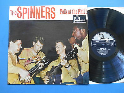 The Spinners Folk At The Phil! Lp Uk Ex-