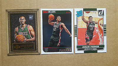 Jabari Parker ROOKIE 3 cards LOT! NUMBERED!!